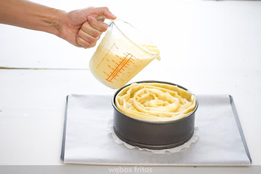 Vierte la crema