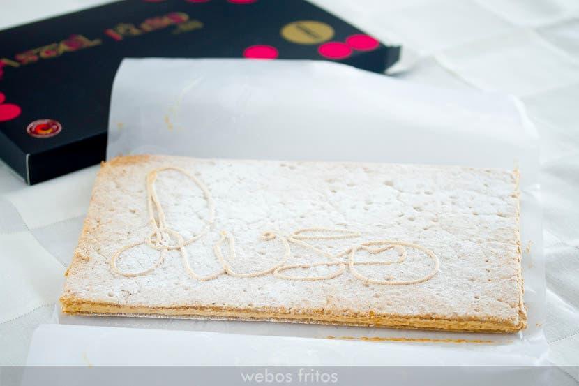 Pastel ruso, de Ascaso
