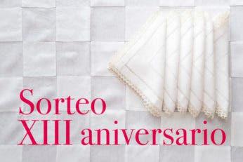 Sorteo XIII aniversario