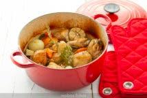 Pollo al horno con soja y miel