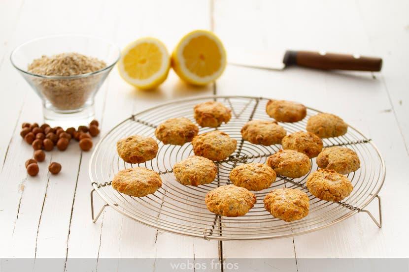 Galletas de avena y limón