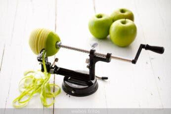 Pelador y cortador de manzanas