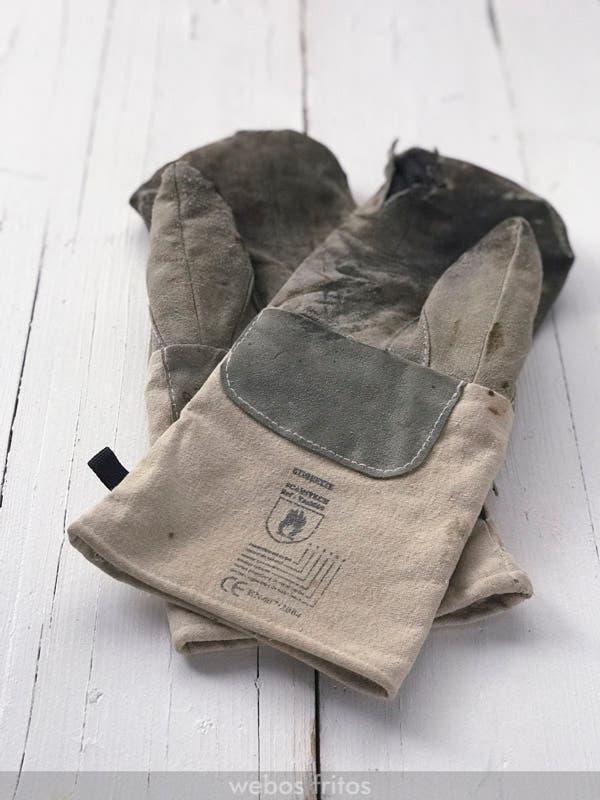 Mis viejos guantes para hornear