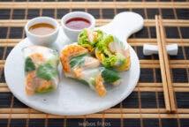 Rollitos de primavera vietnamitas