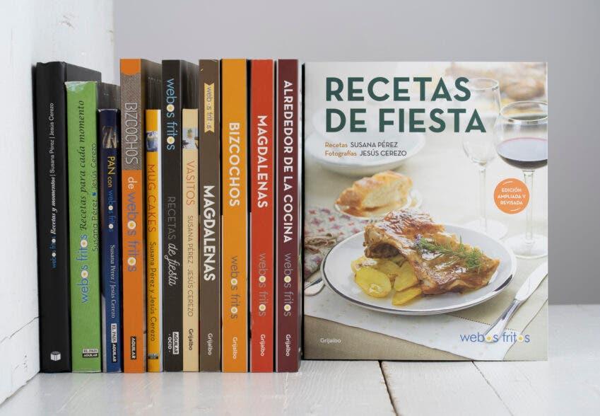 Recetas de fiesta, el último de los libros de webos fritos